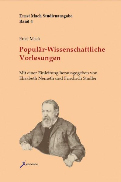 Ernst Mach: Populär-Wissenschaftliche Vorlesungen
