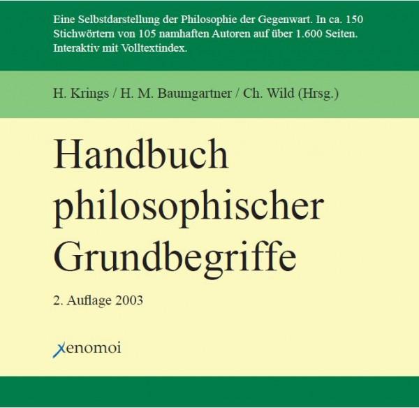 Krings (Hg.): Handbuch philosophischer Grundbegriffe