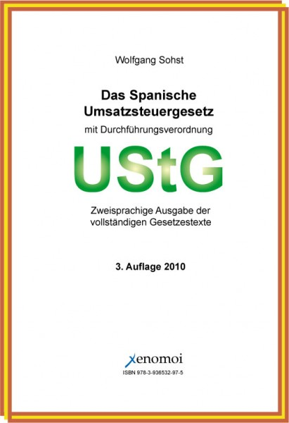 Das Spanische Umsatzsteuergesetz mit DVO und Nebengesetzen (CD-ROM)